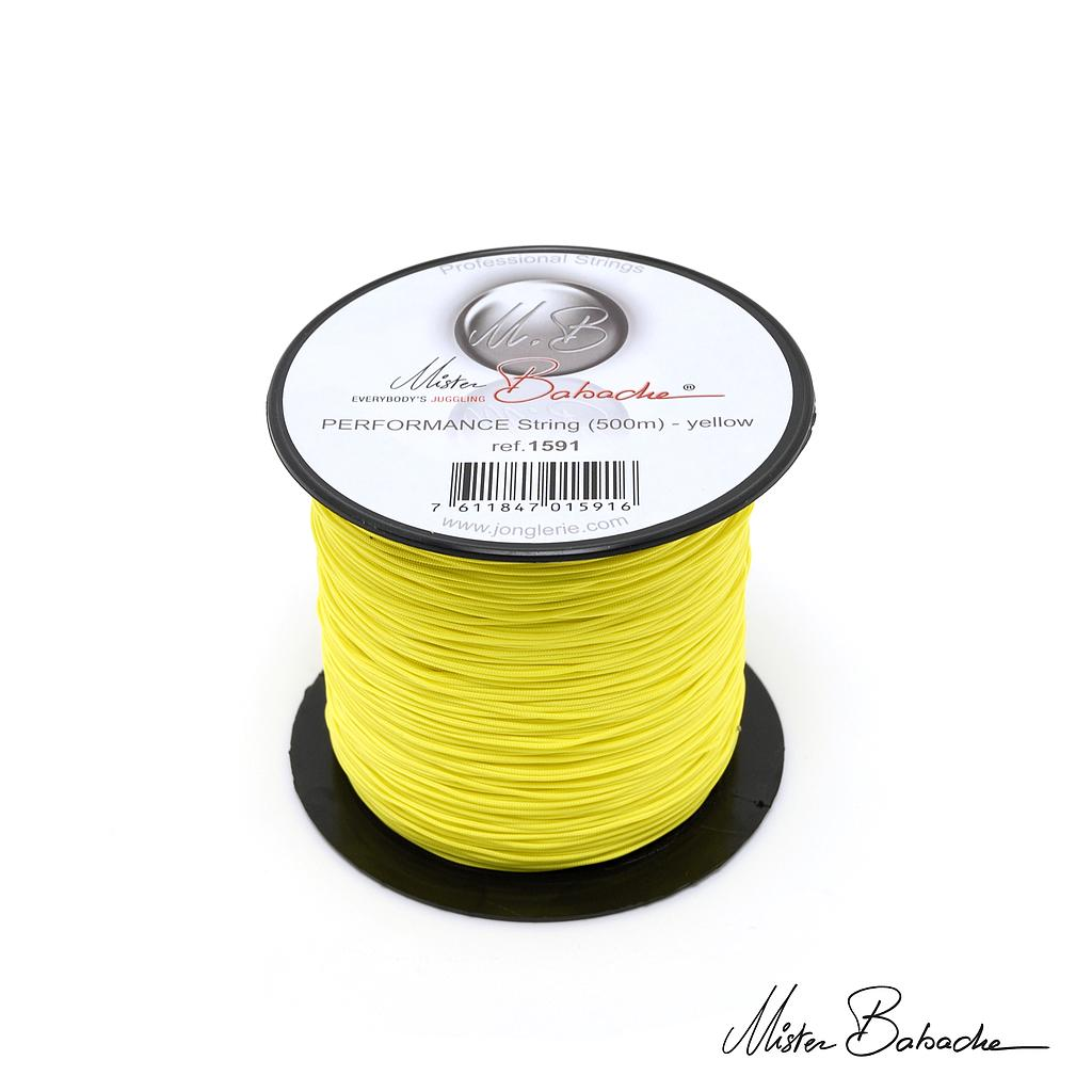 PERFORMANCE string (500 m) - yellow