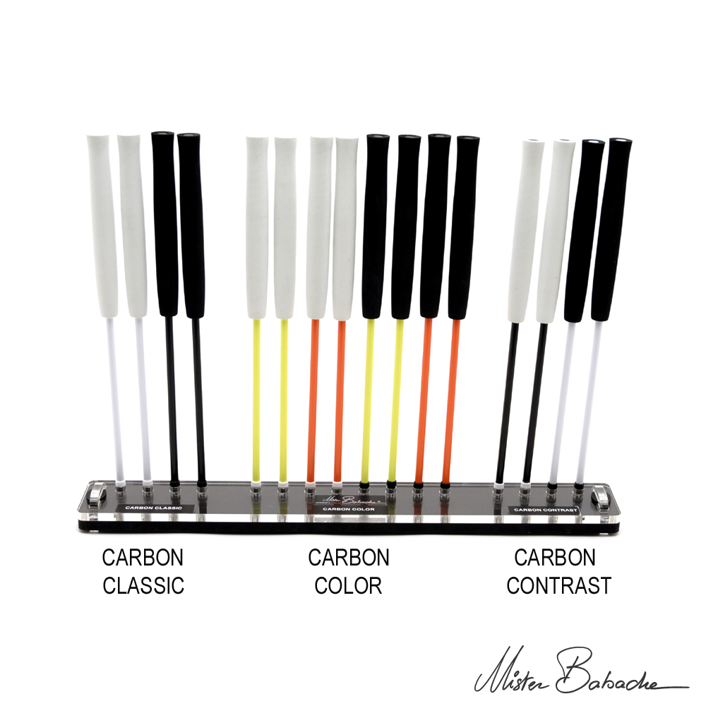 Display for diabolo handsticks (with handsticks) - CARBON