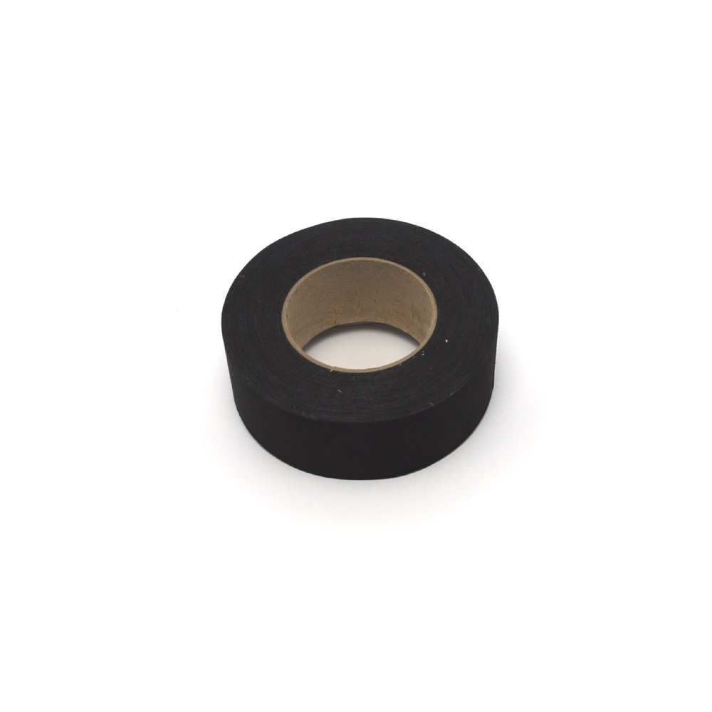 Adhesive cotton tape for trapeze- 50mm x 50m - black