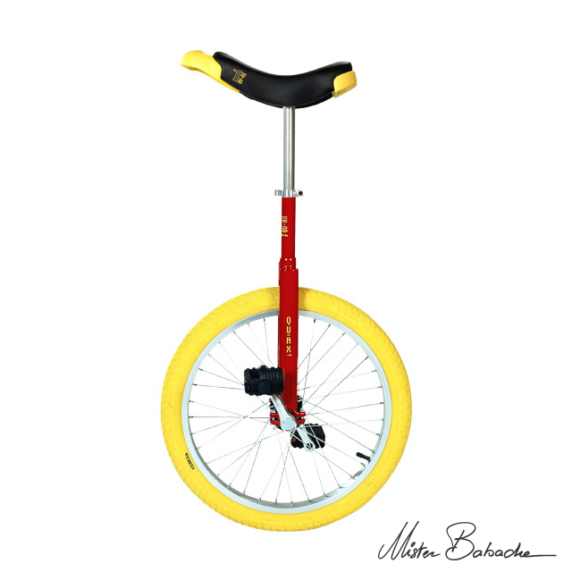 Unicycle Qu-ax luxus 20' - red