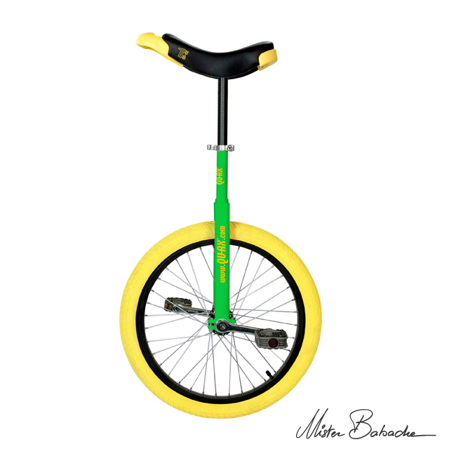 Unicycle Qu-ax luxus 20' - green