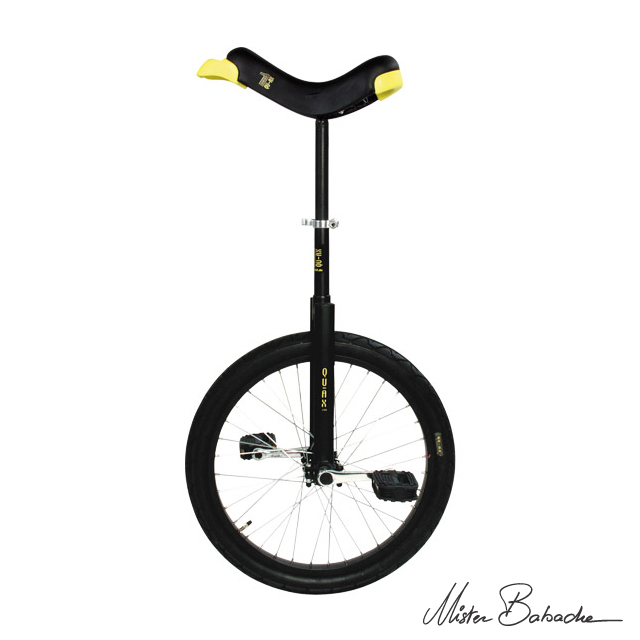 Unicycle Qu-ax luxus 20' - black