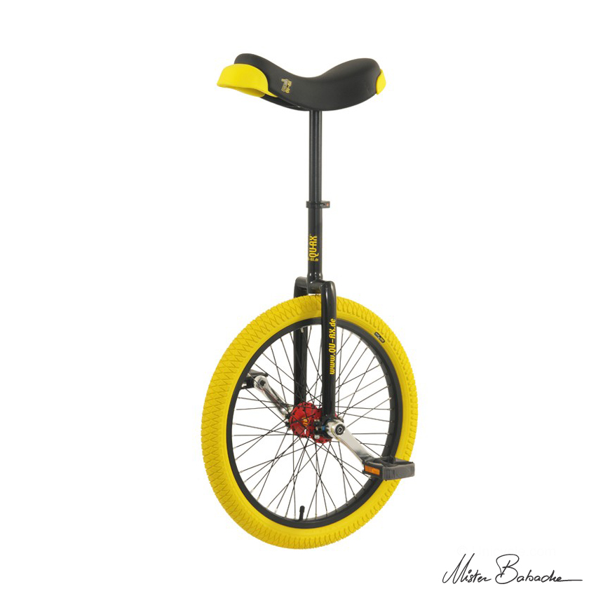 Unicycle Qu-ax profi 20' - black