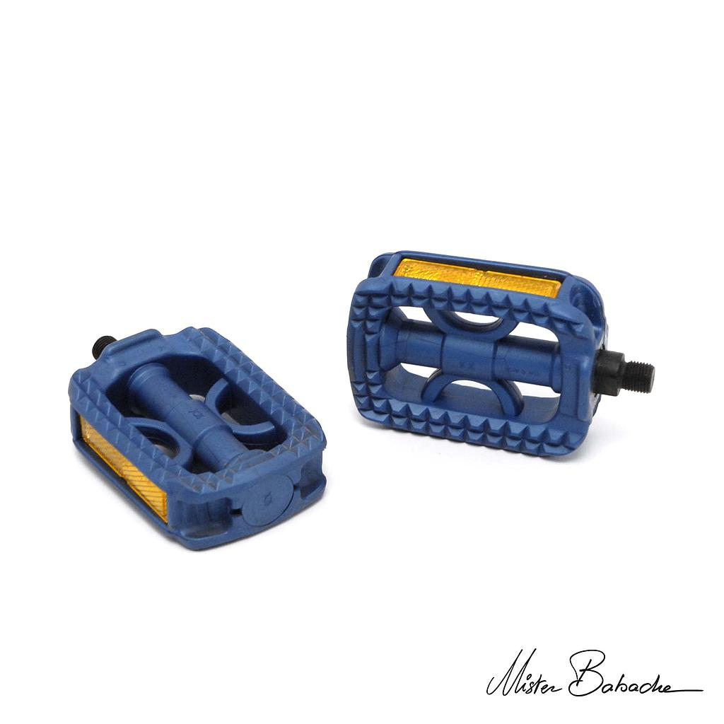 Unicycle Pedals - blue
