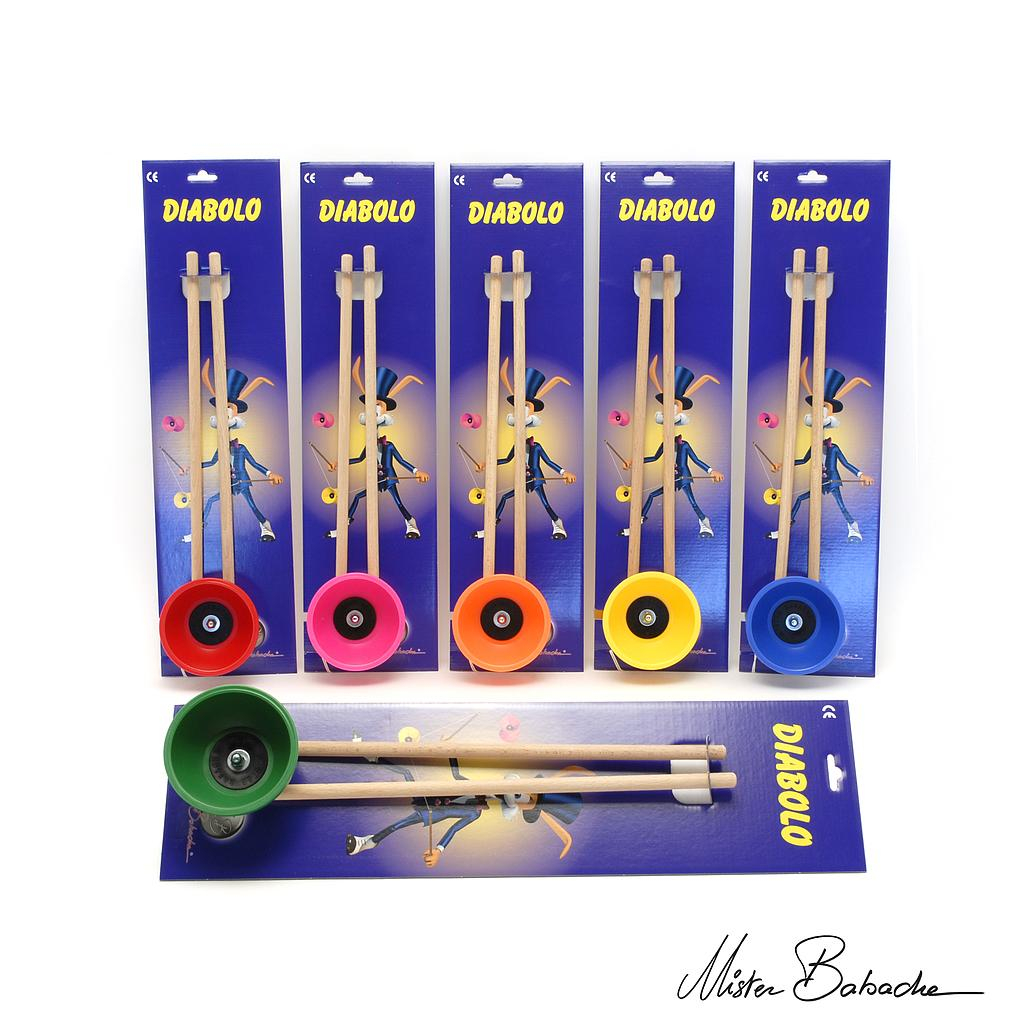 Diabolo MILLENIUM (with handsticks & string) on toon cardboard