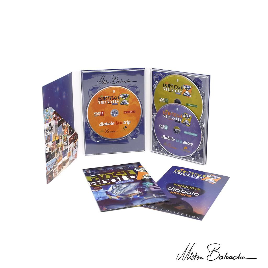 DVD Planet Diabolo (3dvds)