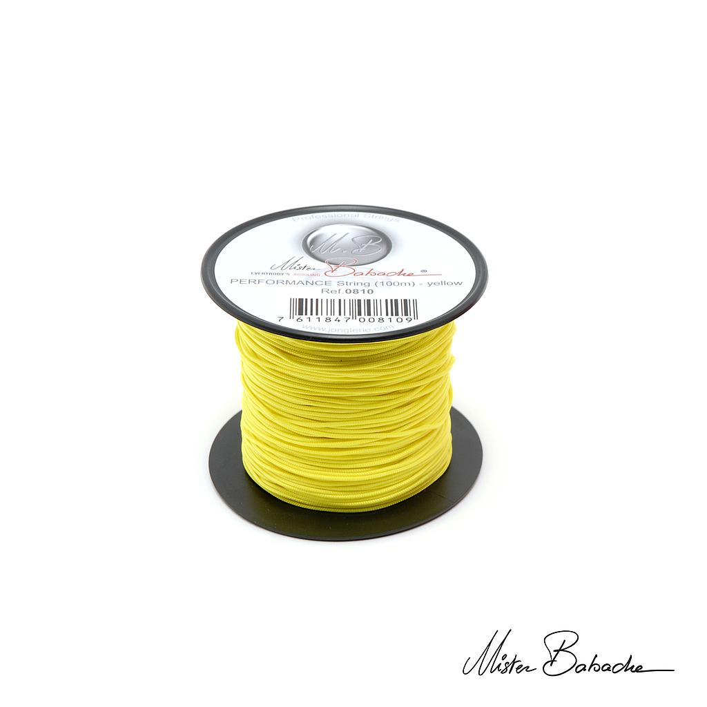 PERFORMANCE string (100 m) - yellow
